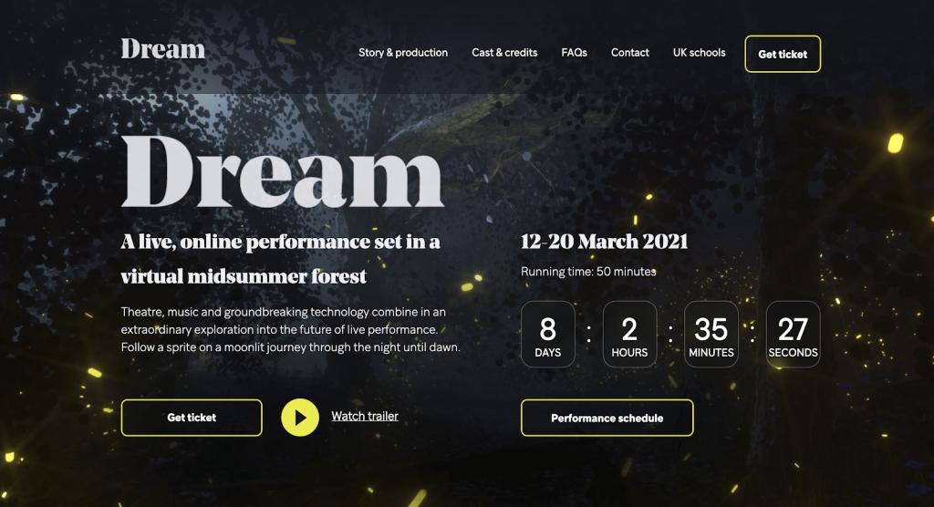 Dream screen
